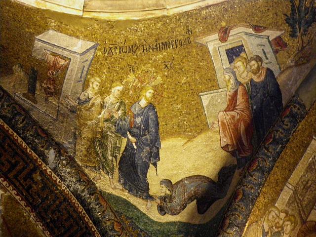Le Christ et la femme paralysée.