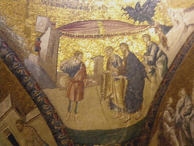 Le Christ et le jeune homme riche ?