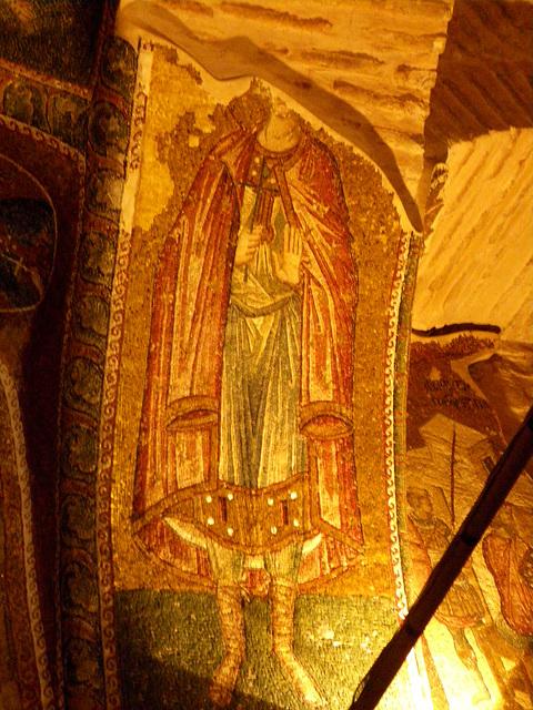 Saint en habit byzantin.