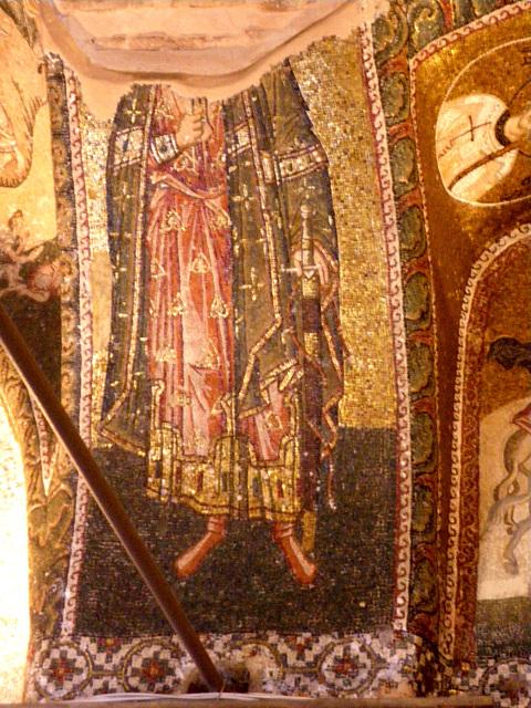 Saint en habit byzantin, 2
