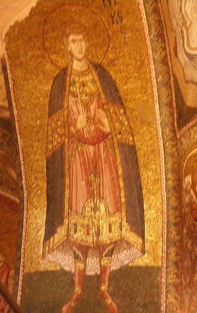 Saint en habit byzantin, 5
