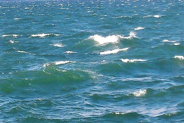Bodensee, heute grün/türkis