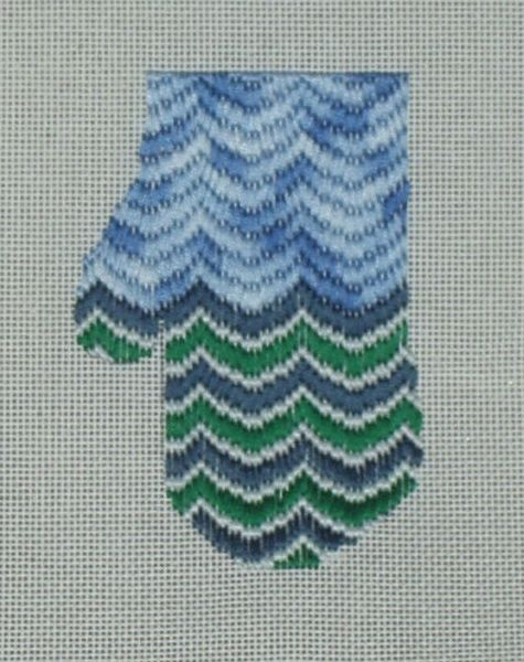 Sea and Sky mitten