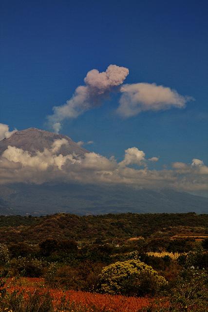 der Popocatépetl