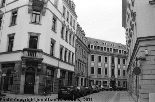 Baroque Quarter, Picture 9, Edited Version, Neustadt, Dresden, Saxony, Germany, 2011