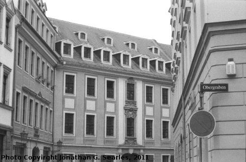 Baroque Quarter, Picture 10, Edited Version, Neustadt, Dresden, Saxony, Germany, 2011