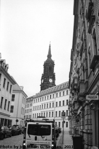 Baroque Quarter, Picture 13, Edited Version, Neustadt, Dresden, Saxony, Germany, 2011