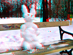Pausieren bis Ostern - (mit 3D-Brille/rot Cyan ansehen)