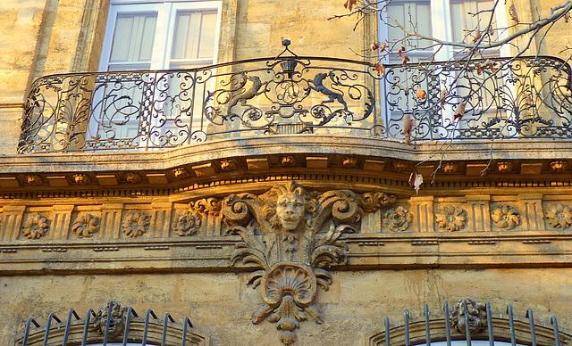 Le balcon du lion à moustache
