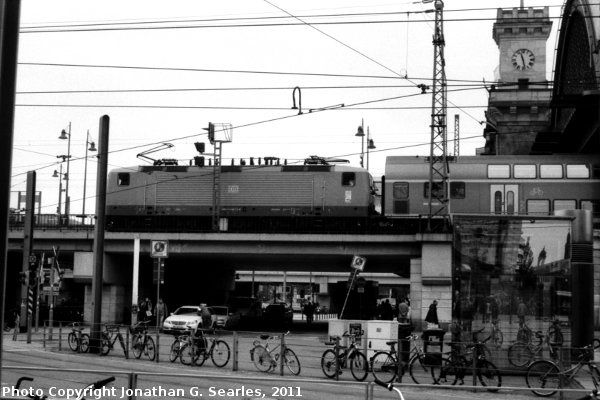 Dresden Hbf, Picture 3, Edited Version, Dresden, Saxony, Germany, 2011