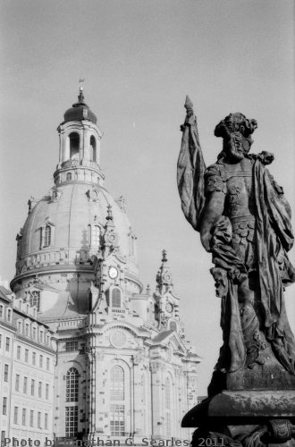 Frauenkirche, Picture 4, Edited Version, Dresden, Saxony, Germany, 2011