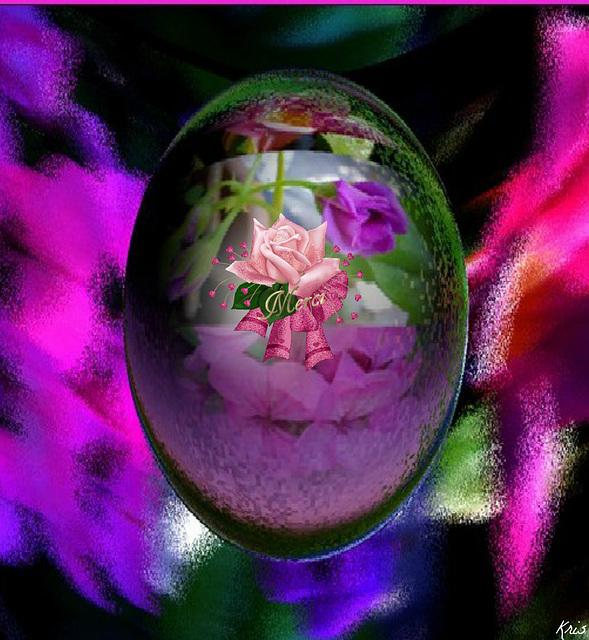 Douceur........, désir..........., bonheur......., plaisir Rien que du meilleur à venir............ Traverser les murs................, sauter les barrières