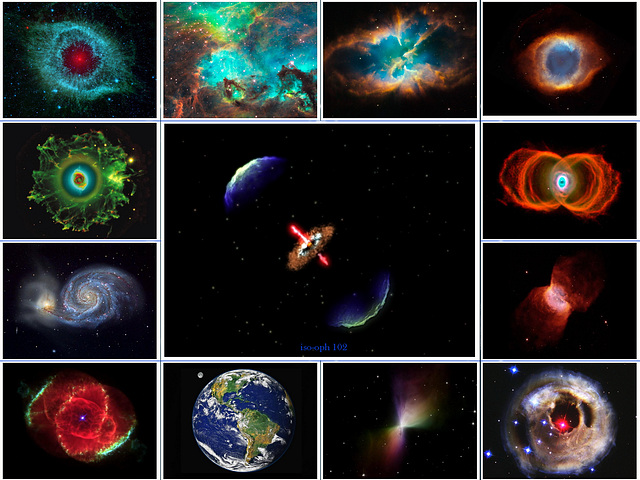 Fascinating Universe Some Colorful Jewels of Space