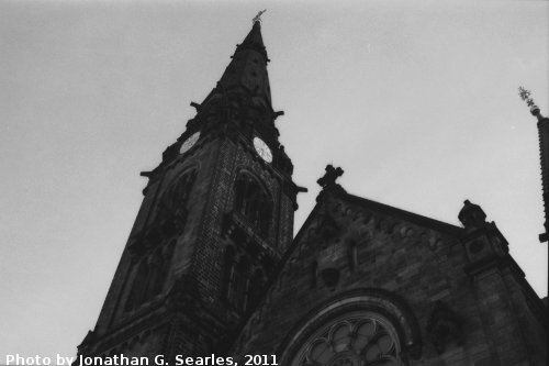 St. Martin-Kirche, Picture 3, Dresden, Saxony, Germany, 2011