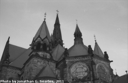St. Martin-Kirche, Picture 6, Edited Version, Dresden, Saxony, Germany, 2011