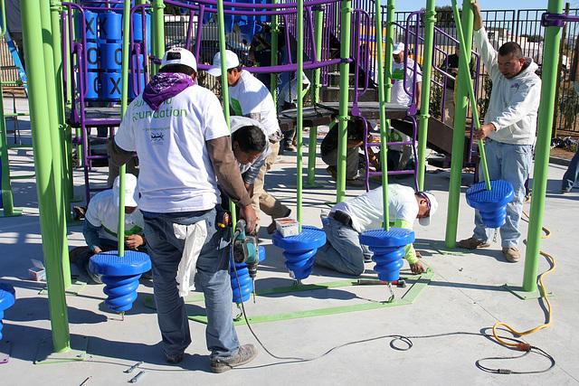 Kaboom Playground Construction (8843)