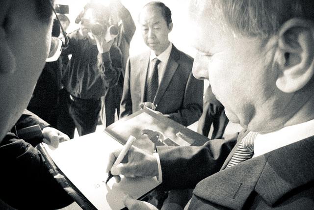 Autogram do knihy Kysuce