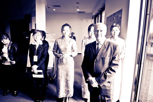 Jaro a jeho čínske obdivovateľky