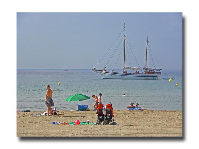 Le Sud............plage de La Couronne.