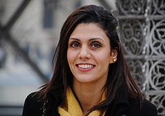 Portrait d'une italienne à Paris