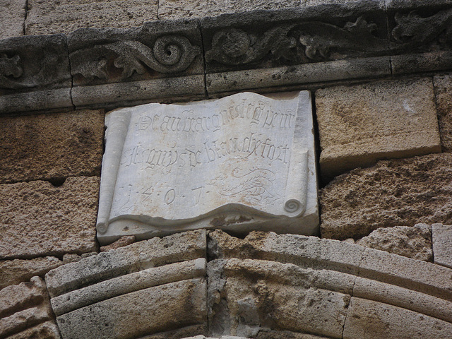 Louis de Blanquefort, grand-maître