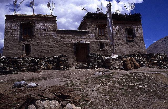 Maison traditionnelle Zanskhari