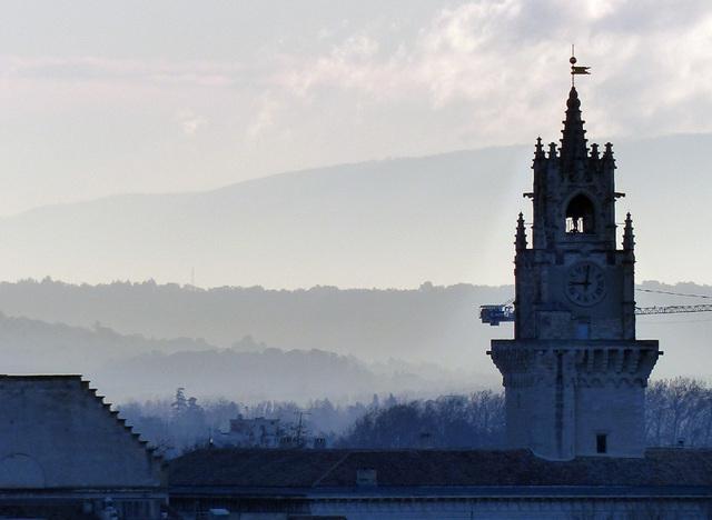 """Avignon : et le mistral """"comme un rasoir"""""""