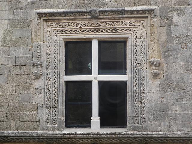 Fenêtre de la rue des chevaliers.