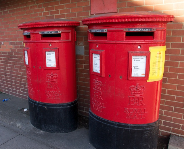 post boxes!