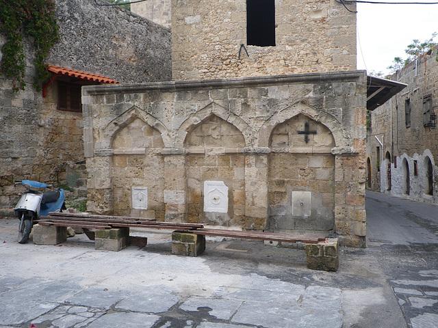 Fontaine musulmane.