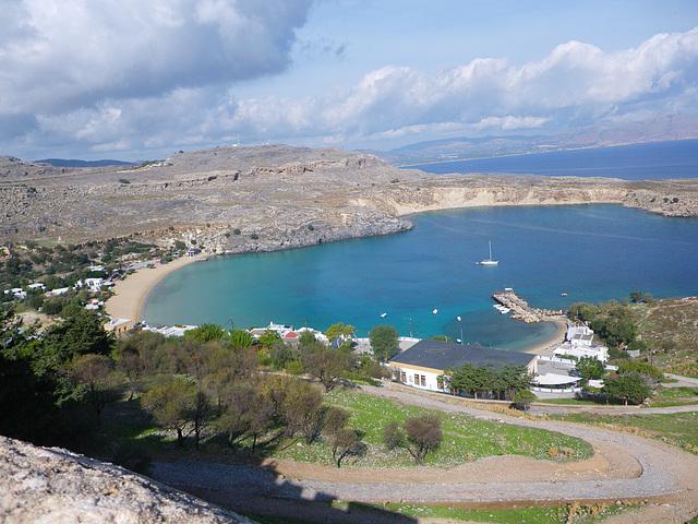 Baie de Lindos