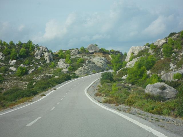 Route intérieure.