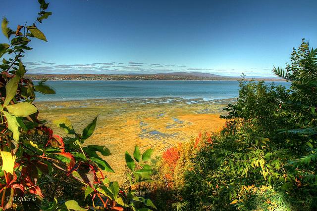 Le majestueux fleuve Saint-Laurent