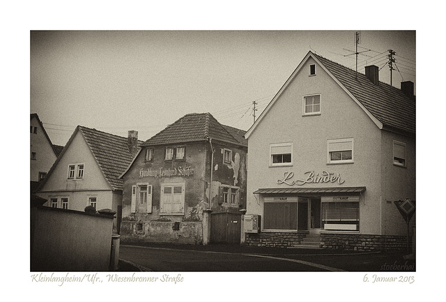 Kleinlangheim, Wiesenbronner Straße