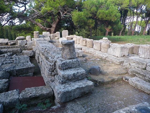 Naos du temple d'Athéna Polias