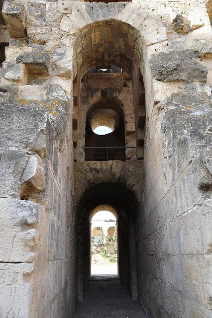 Amphitheater in El Djem