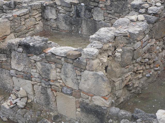 Kamiros : l'appareil des murs