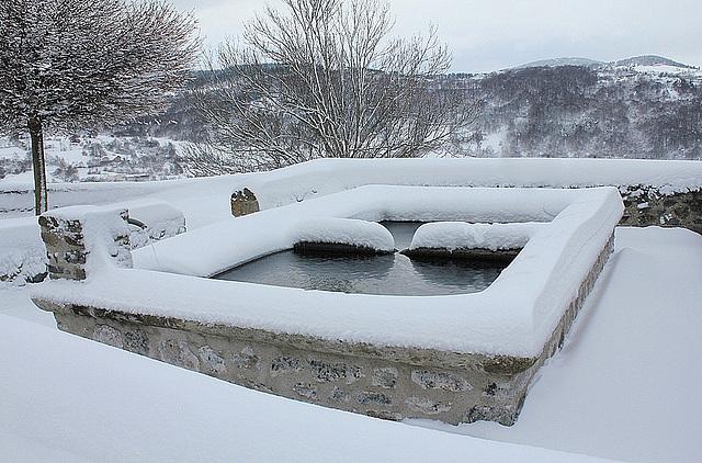 Lavoir sous la neige (3)