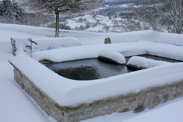 Lavoir sous la neige (4)