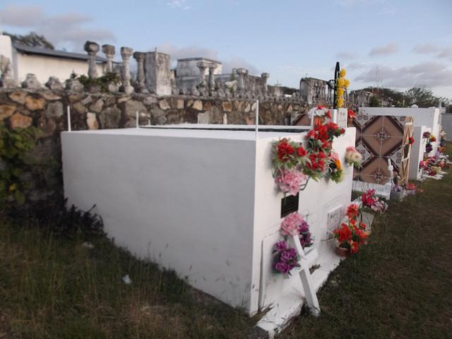 Jardin funéraire à la panaméenne