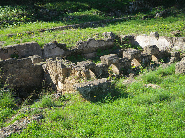 Bassin ornemental d'une villa hellénistique.