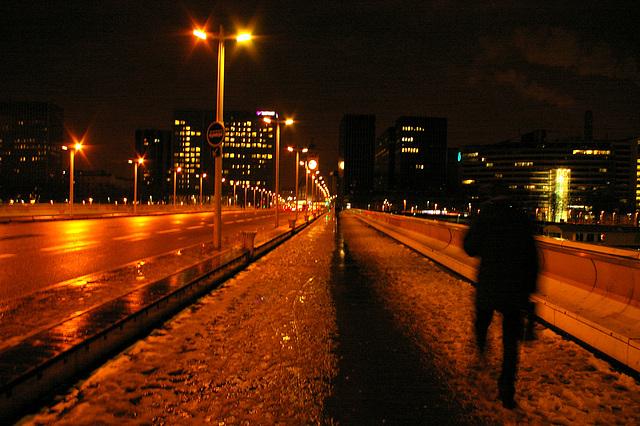 soir d'hiver