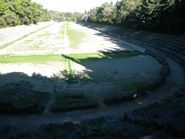 Acropole de Rhodes : stade 3