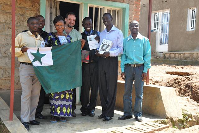 Kun la ruandaj esperantistoj