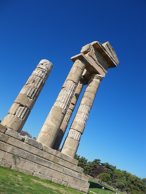 Temple d'Apollon Rhodien 2