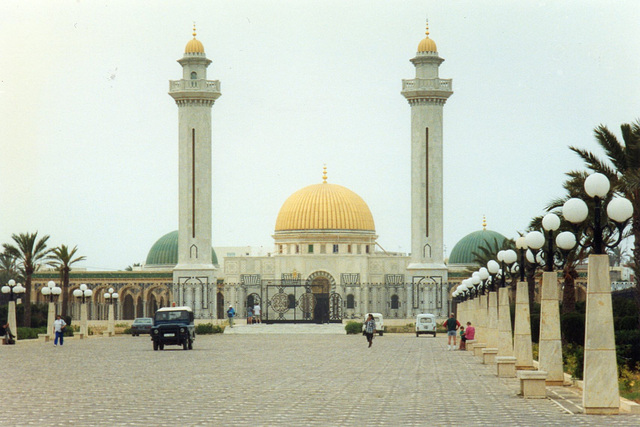 The mosque in Monastir, Tunisia