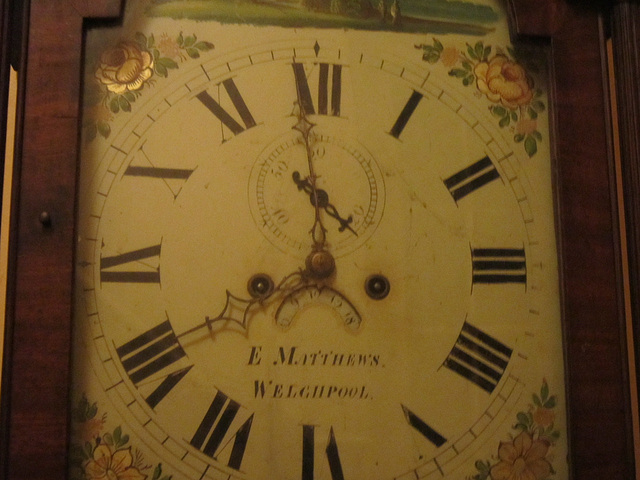 Hands on my grandfather clock