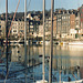 Beautiful little fishing town of Honfleur, France