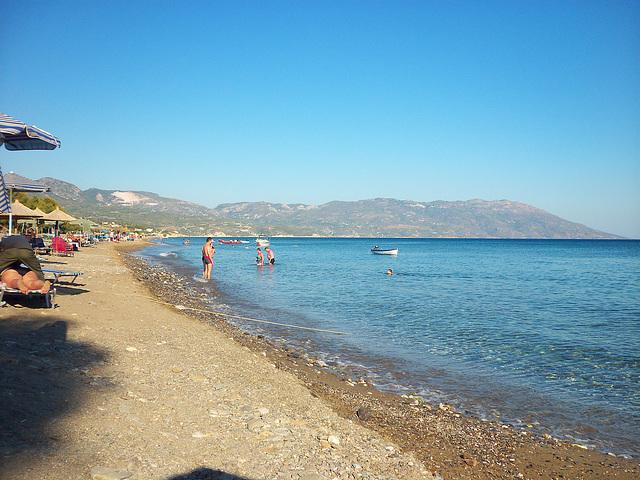 Lovely Votsalakia beach, Samos, Greece