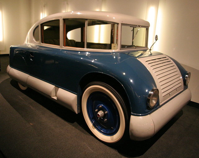 1928 Martin Aerodynamic - capable of 107 MPH - Petersen Automotive Museum (8144)